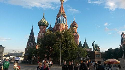 Мой отдых в Москве